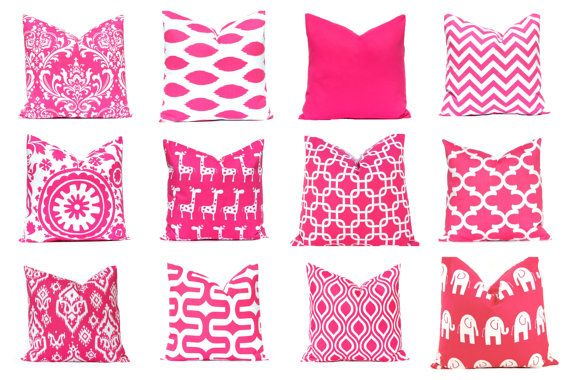 Hey, I found this really awesome Etsy listing at https://www.etsy.com/listing/208445082/pink-euro-sham-pillow-cover-throw-pillow