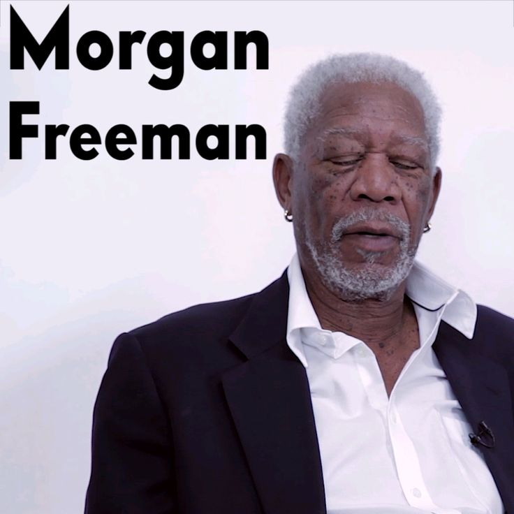 """I swear every school thing I watch Morgan Freeman is in it! Even movies I was """"Oh James Mcavoy is in this movie!"""" Then Morgan Freeman shows up!"""