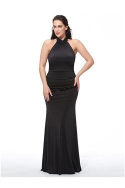 Pleats Halter Natural Spring Formal Floor-Length All Sizes Sweep/Brush  Dress
