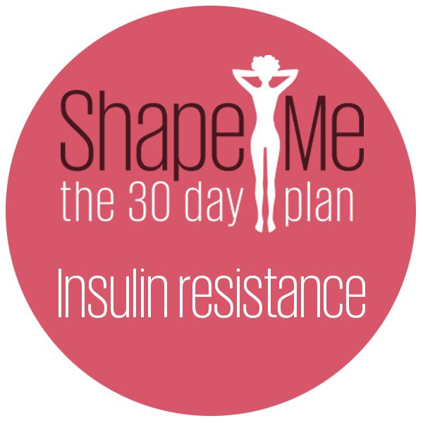 Is insulin resistance standing between you and your healthier self? - 30 day diet plan to cater for insulin resistance