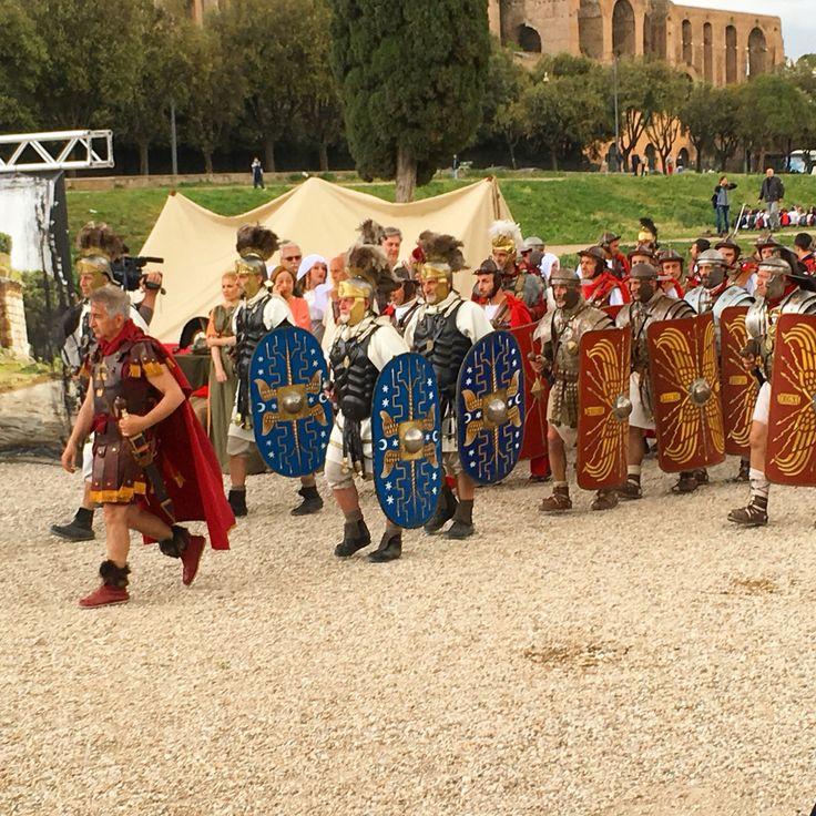 21/04 - Reconstitution de la naissance de Rome, suite - Avr 2016 ©ROME Pratique