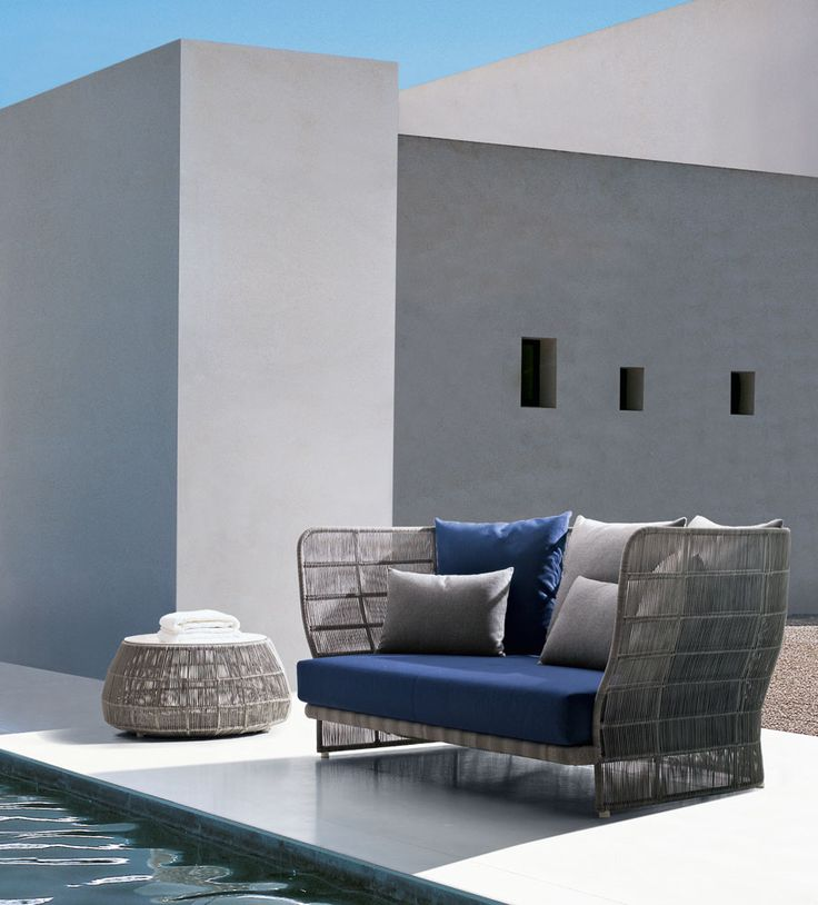 CANASTA 13 Sofa from B & B Italia Outdoor – Design: Patricia Urquiola http://www.campbellwatson.co.uk/superbasket/product/16247/Canasta+Sofa+B%26B+Italia+Outdoor