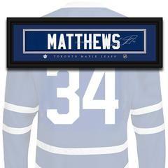 Toronto Maple Leafs - Auston Matthews - NHL Jersey Name Print