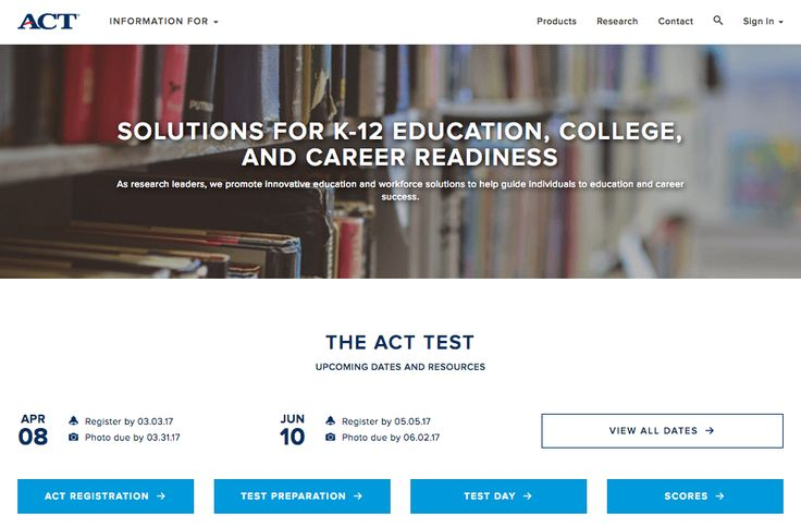 The ACT test is a curriculum-based education and career planning tool for high school students that assesses the mastery of college readiness standards