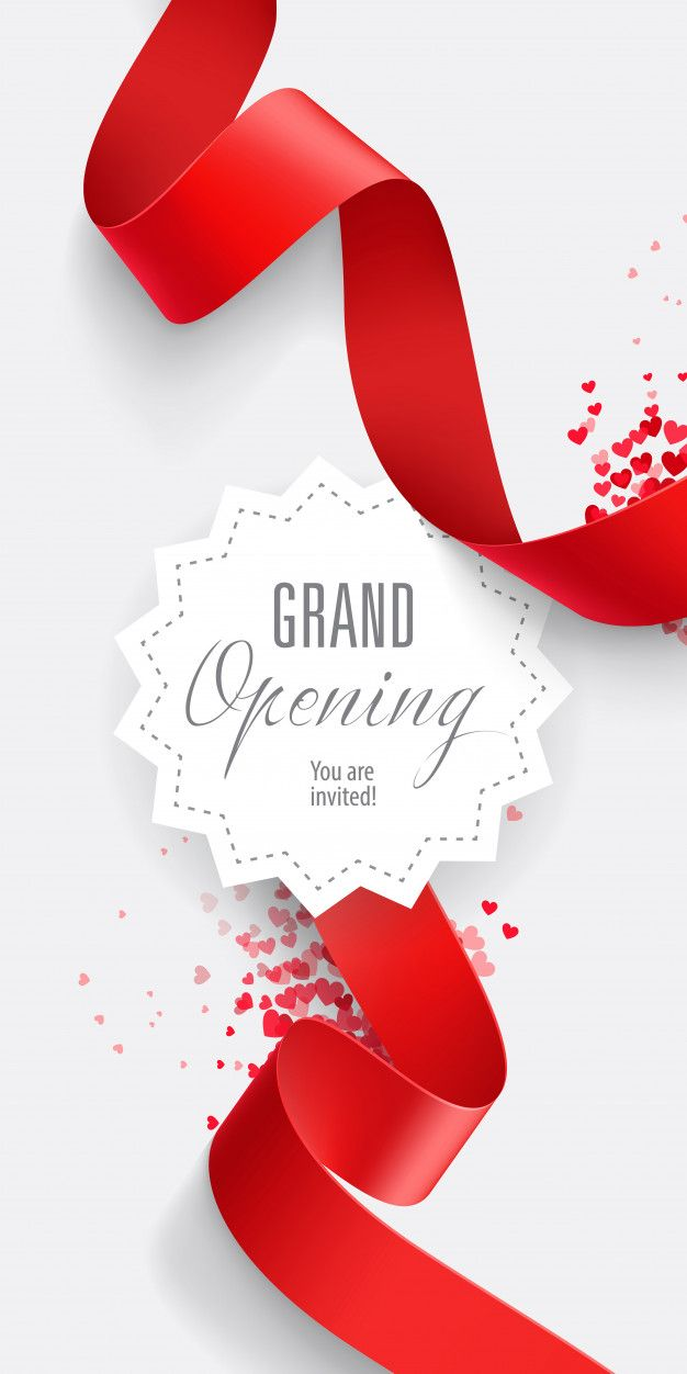 Download Grand Opening You Are Invited Lettering For Free With
