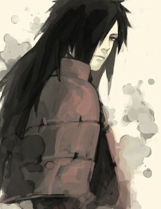 """""""Uchiha Madara"""" Remember ignorant Americans, Japanese culture has the last name first because honor of the family name comes before personal honor.... DON""""T let me catch pinterest making it a habit. It's called respect!"""