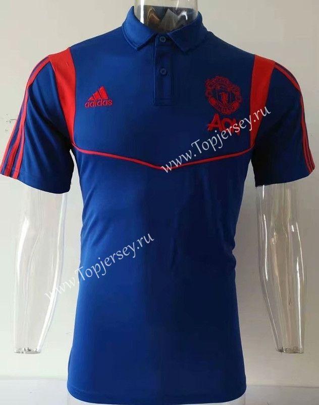 Raglan 2020 Polo Shirt Manchester Thailand Blue 2019 United 811 UzpMVLqSG
