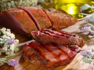 apaki : a traditional way of curing pork from mountainous Crete, originating from the need to preserve the meat that was available in large quantities until it could be used #Cretan #Cuisine #Alogdianakis #Farm