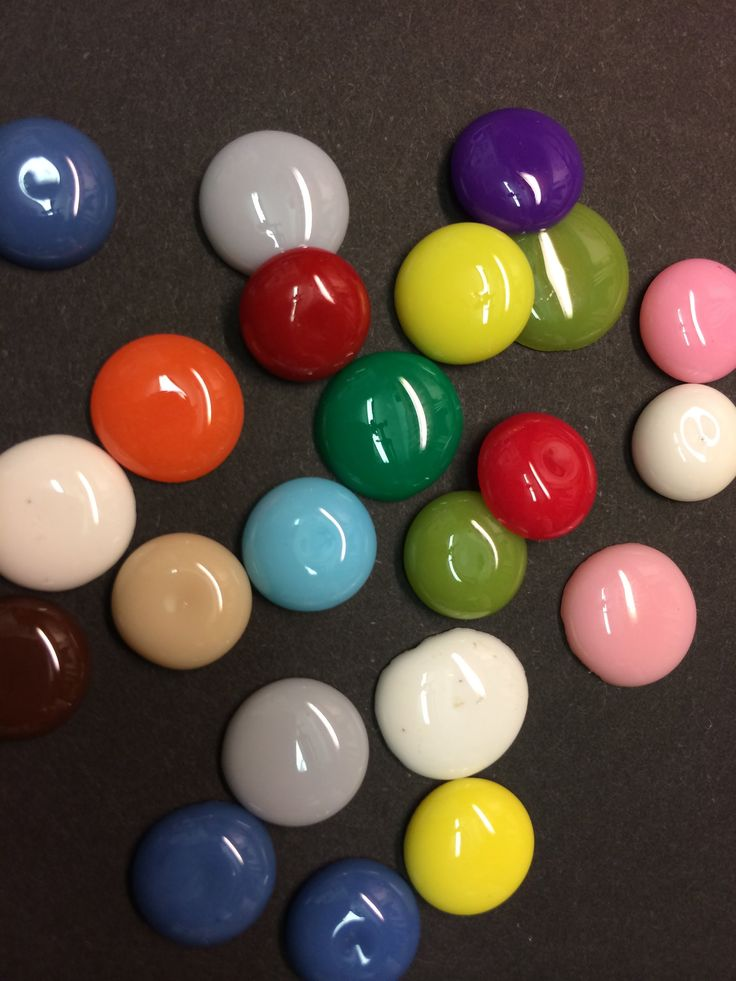 DIY Enamel dots from Pony Beads or Perler Beads (melt beads)