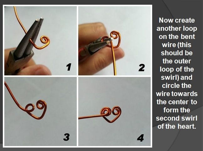 DIY Ring: Heart Wrapped Wire Ring