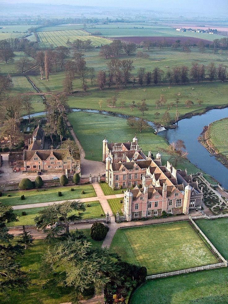 Charlecote Park, Warwickshire, England..