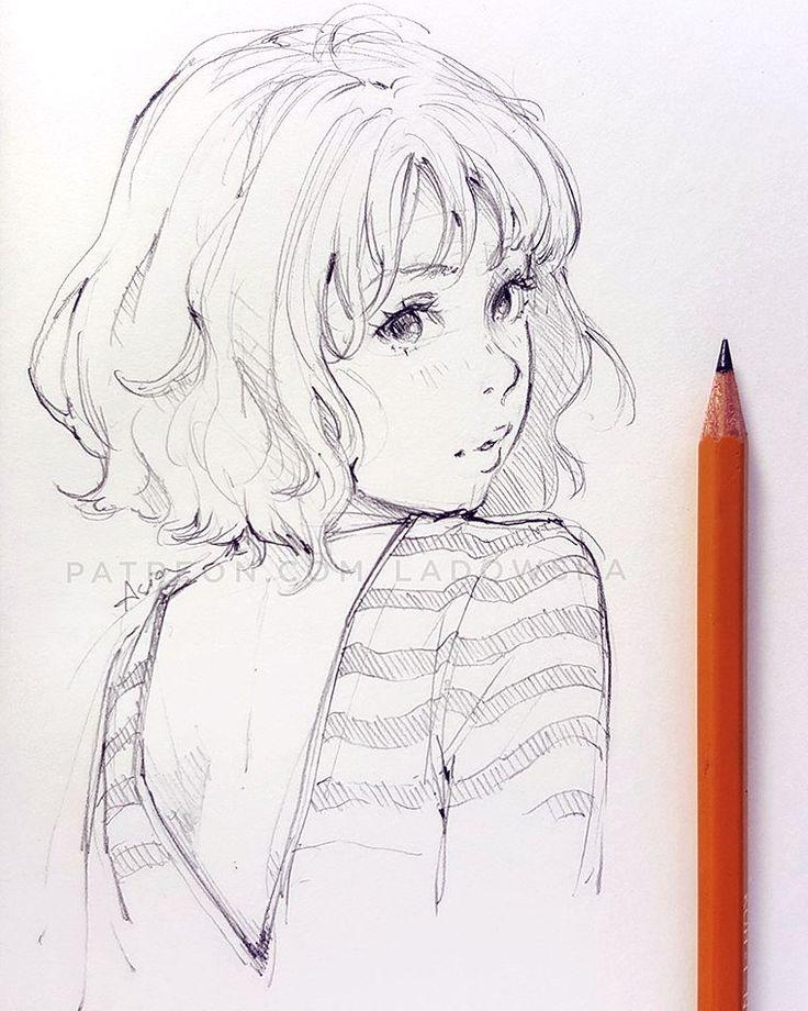 Pencil sketch by ladowska Sketches, Art