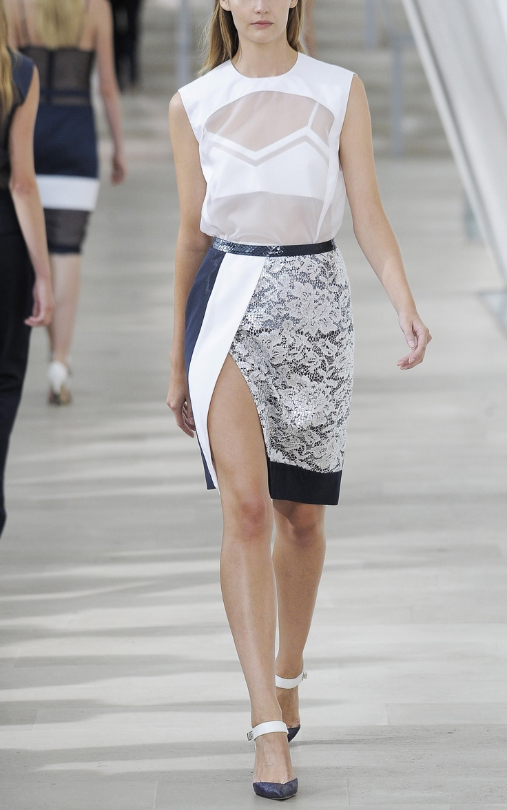 Preen Hedda Skirt at Moda Operandi