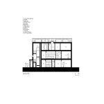 Шесть сблокированных домов, по своему архетипу напоминающие традиционные конюшни, формируют небольшой жилой квартал с одиннадцатью жилыми единицами от двухкомнатных квартир до четырёхспальных дуплексов и пятиспальных апартаментов.