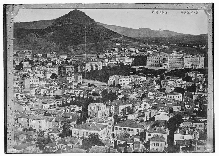 Athens, 1900 - Photographs of Athens in the Late 19th and Early 20th Century  Best of Web Shrine