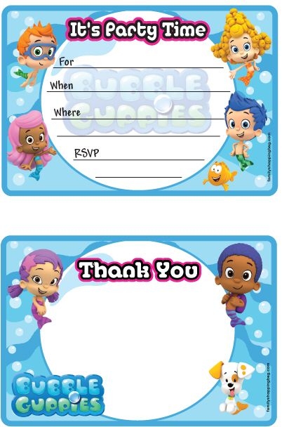 219 Best Bubble Guppies Printables Images On Pinterest Free