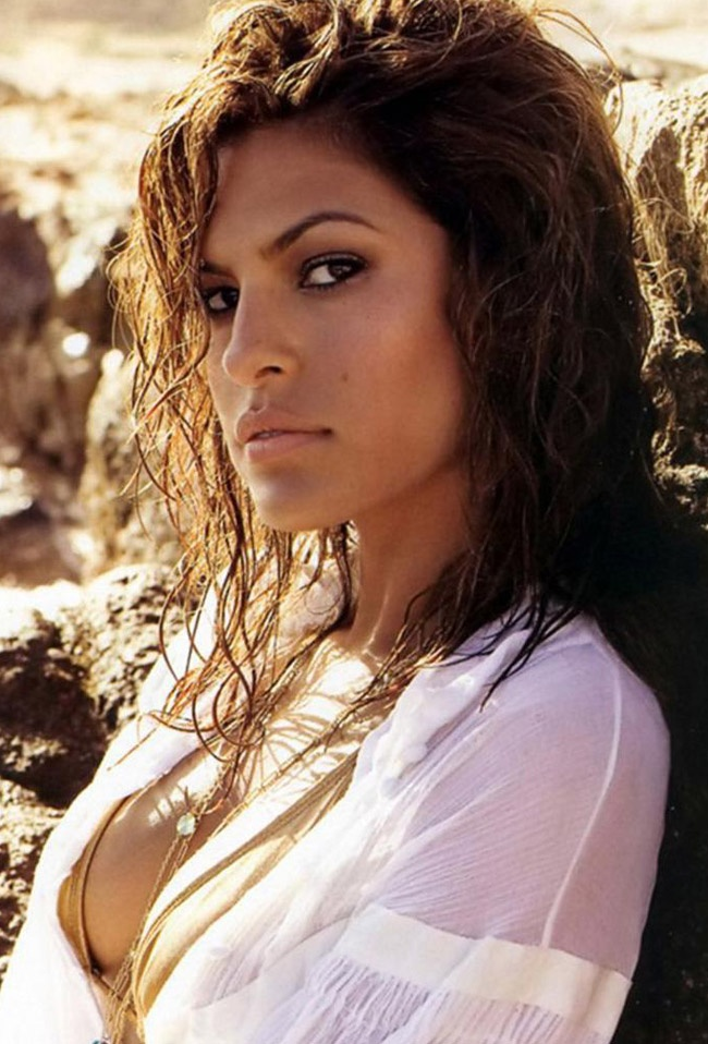 Eva Mendes - is a Cuban American actress, model, singer, and homeware and fashion designer.