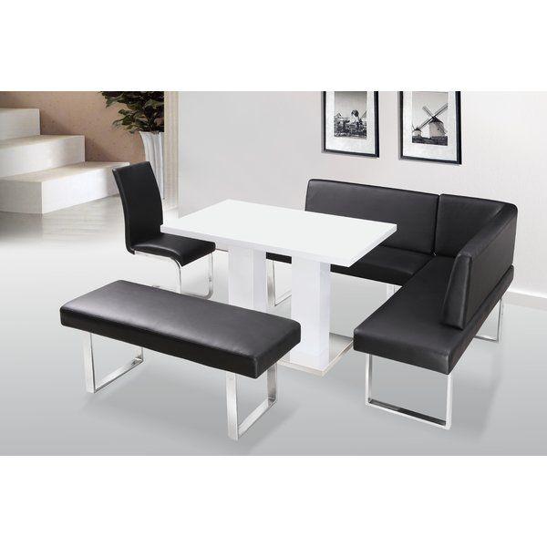 Marvelous Havilland Upholstered Corner Bench With Back In 2019 Ncnpc Chair Design For Home Ncnpcorg