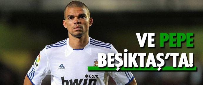 Pepe dün ülkesine döndü, siyah-beyazlı yöneticiler de Portekiz'e çıkarma yaptı. Dün gece geç saatlere kadar yapılan görüşmeler sonrası Pepe, Beşiktaş'a 'evet' dedi.