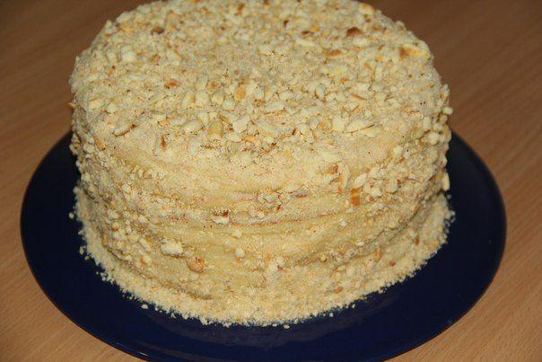 Поварешки: Торт со сгущенкой на сковороде.