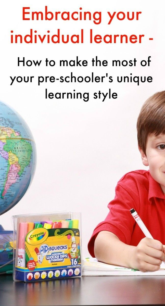 Embracing your individual learner and making the very most of your pre-schooler and their unique learning style. Lots of int and tips to support their various ways in which our pre-schoolers learn