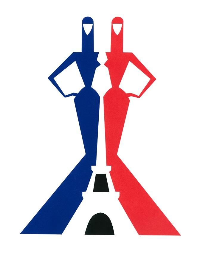 Piet paris illustration