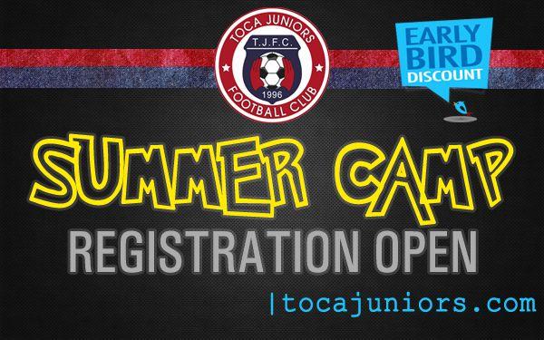 ☀️⚽️ Summer Camp Registration NOW OPEN  Girls & Boys (Ages 5 to 19) | Register today! | Early bird discount!  tocajuniors.com  #summercamp #soccer #Camp #Training #Program #potomac #MoCo