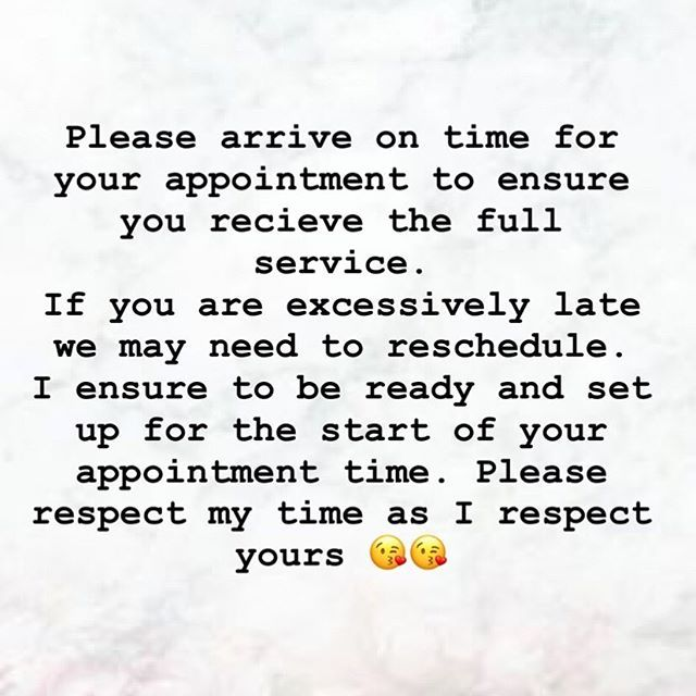 Next Week Hi Everyone Next Week Is Extremely Busy Here All Your Appointments Are Back To Back So Please Make Sure You Are On Time To Your Appointment Or We Wil
