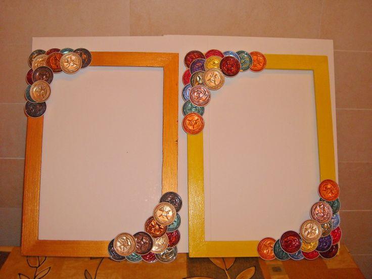 Marcs decorats amb Nespresso