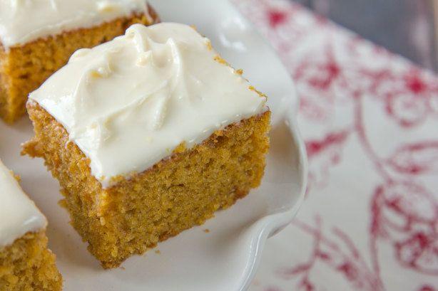 Make and share this Pumpkin Bars(Paula Deen) recipe from Food.com.