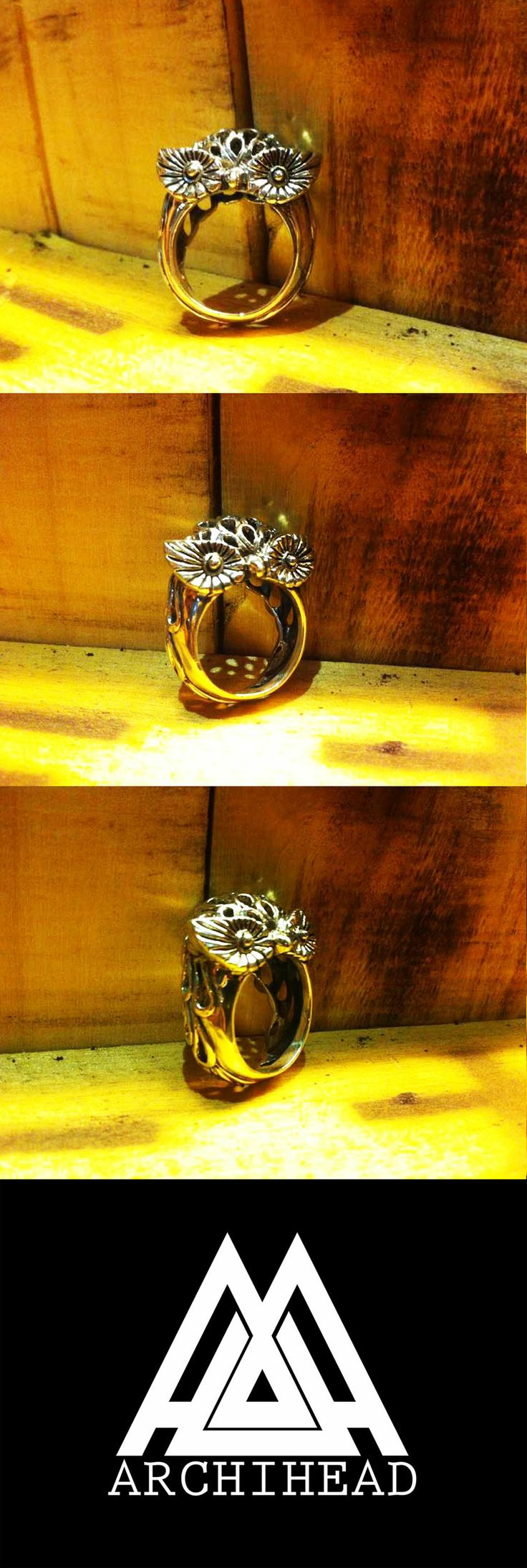 ARCHIHEAD Rings (Owl) Archiheadproject@gmail.com