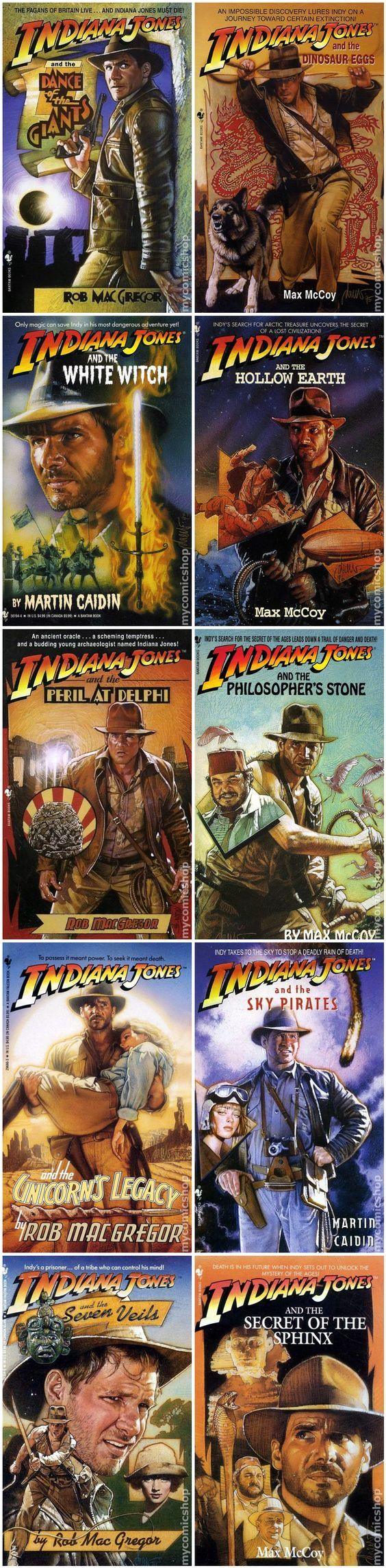 Indiana Jones adventures | mycomicshop #indianajones