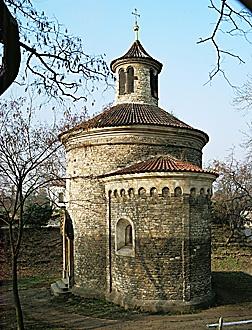 St. Martins Rotunda, 11de eeuw, romaans