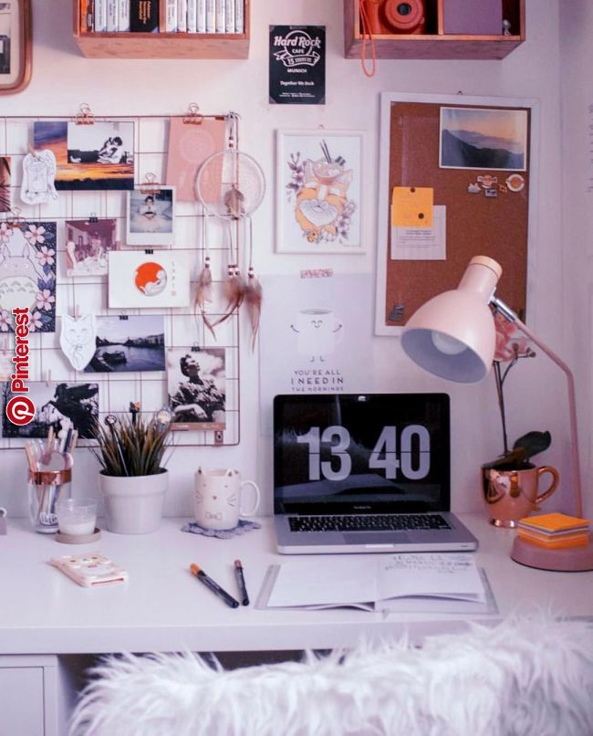 Organized Chaos Office Gallery Wall Goals Aesthetic Room Decor