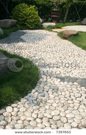 White Pebble Path