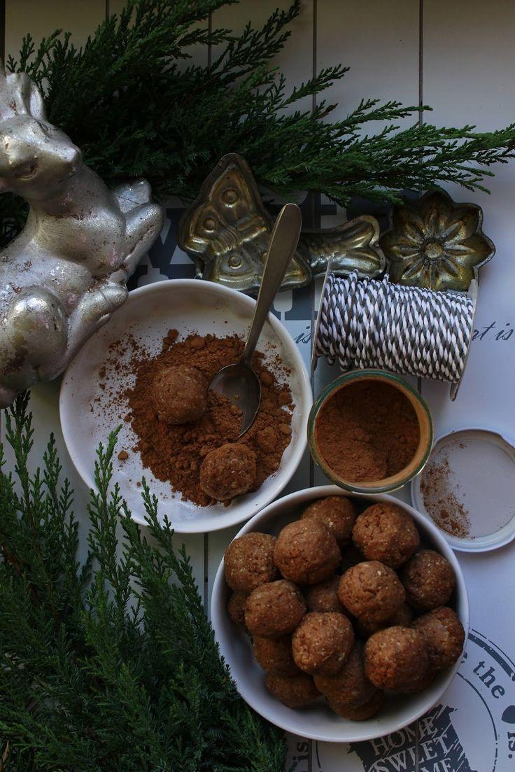 Delicious blog: Jáhelné kakaové kuličky