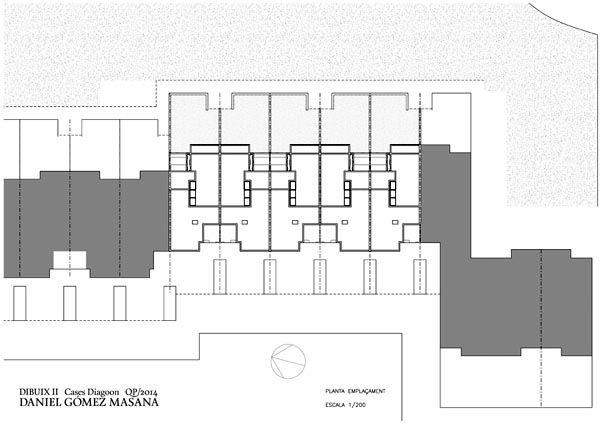 Herman hertzberger diagoon houses top floor plan for Case study house 8 floor plan