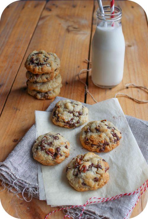 Cookies pépites de chocolat et noix de pécan (1)