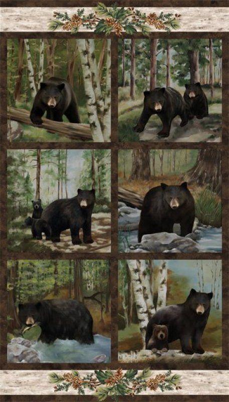 Black Bear Lodge by Northcott                                                                                                                                                                                 More