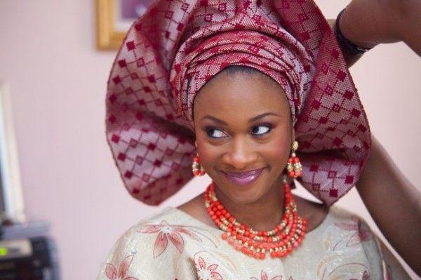 A Yoruba Woman In Traditional Attire.