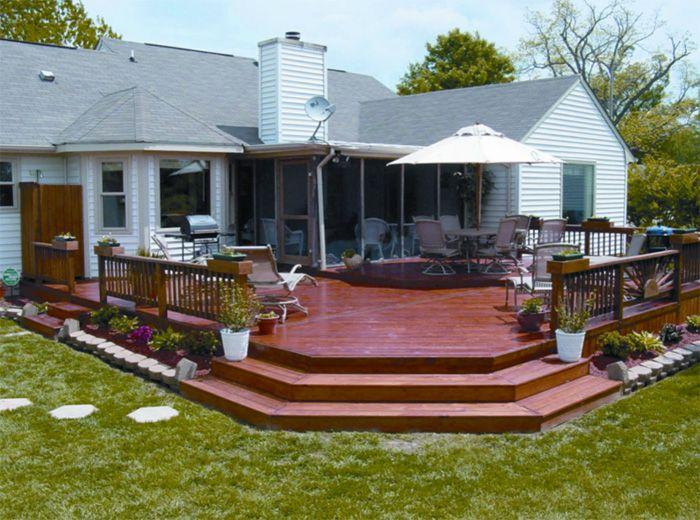 best 25+ wood deck designs ideas on pinterest | patio deck designs ... - Wood Patio Designs