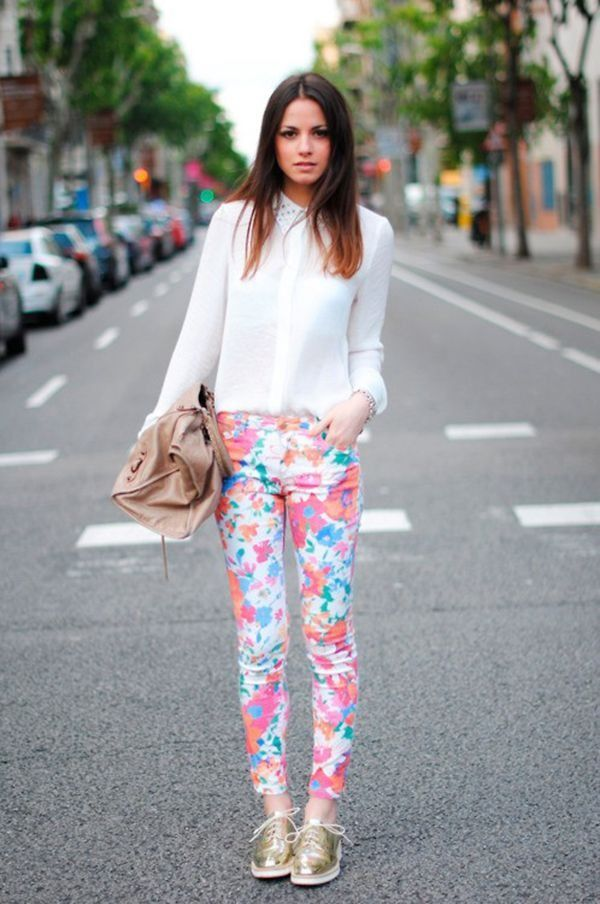 Chic and Casual Ways to Wear Floral Pants