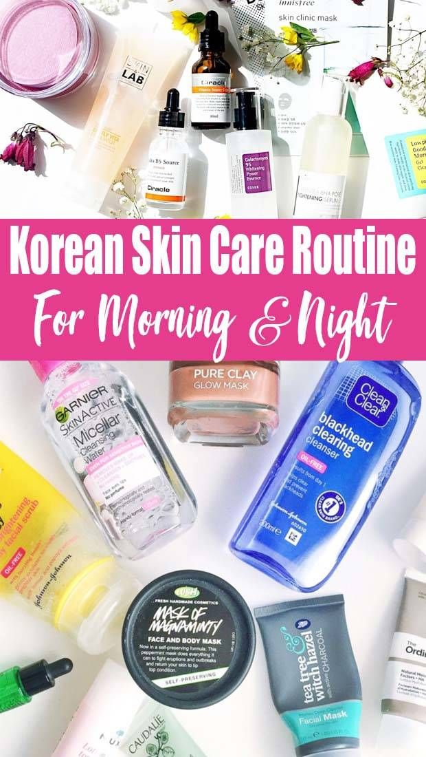 Korean Skincare Routine Morning And Night In 2020 Korean Skincare Routine Korean Skin Care Routine Night Morning Skin Care Routine