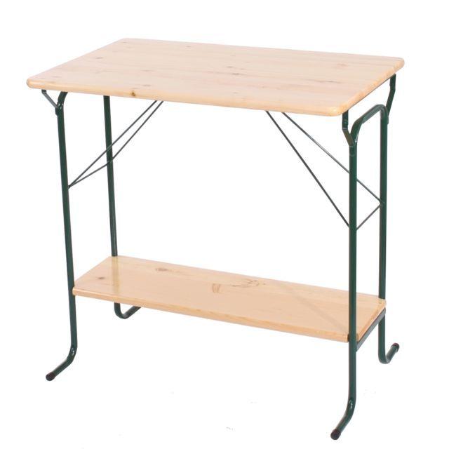Salon de jardin plastique 10 personnes table de jardin - Table de jardin alu et bois composite ...