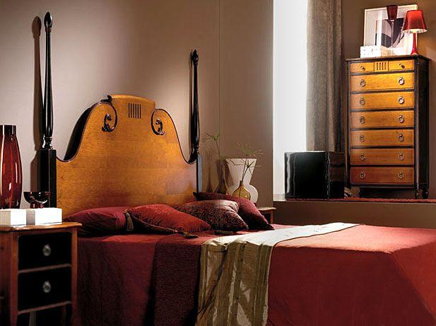 Dormitorio vintage lillac de lujo en - Dormitorios de lujo ...