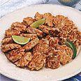 Crab cake   http://www.epicurious.com/recipes/food/views/Baltimore-Crab-Cakes-366711