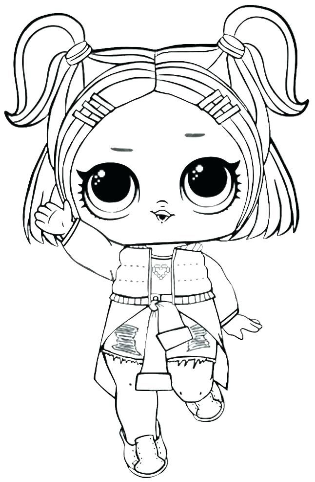 LOL Dolls Coloring Pages Cool Figuras para colorear