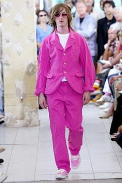 Comme des Garçons Spring 2005 Menswear