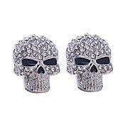 Pendientes del cráneo completo del diamante – CLP $ 2.686