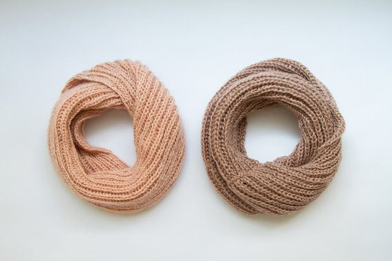 SIZE DETAILS • Full- Length: 70 cm - 27,5 wrapped one time. • Width: 33cm - 13  STYLE DETAILS  Luxurious light pink scarf carefully hand-knitted for women.